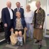 Evening speakers John Shine, Graham Farquhar, Susanne von Caemmerer, Jenny Graves and Adrian Horridge (seated)