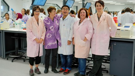 BTLC laboratory staff