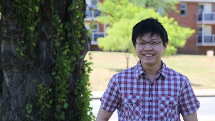 Bachelor of Science Advanced (Honours) student, Hong Kiat Lim