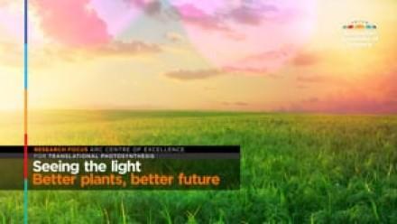 Seeing the light: Better plants, better future