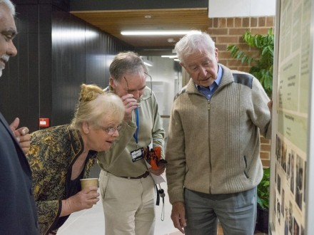 50 years of Biology event in Catcheside court