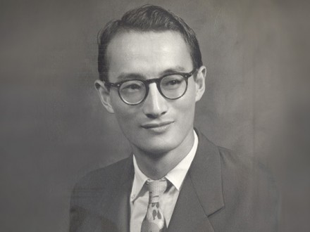 Professor Naora in younger years (1950's)