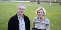 Professor Rice and Associate Professor Howitt